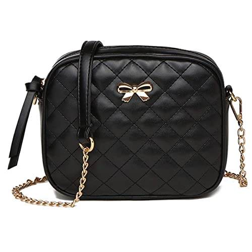 Women's Bags Cheap Price Multi-pockets Diamond Lattice Leather Shoulder Bag Women Solid Color Zipper Handbags Small Crossbody Bags For Women Luggage & Bags