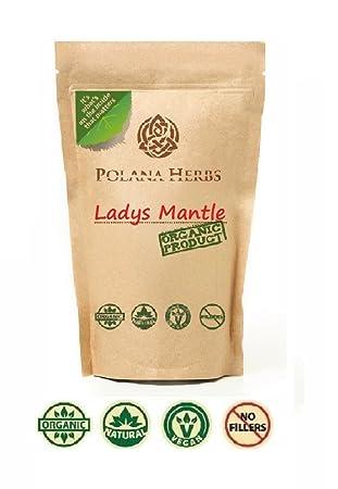 Polana Herbs - Organic Lady's Mantle Loose Herba Tea - Helps Fat Burn,  Cough Remedy, Strong Antioxidant (Alchemilla Vulgaris)