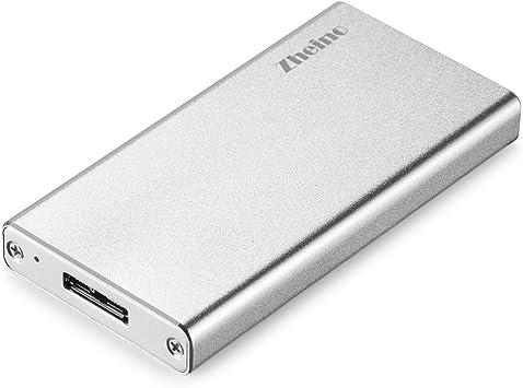Zheino mSATA SSD Half Size mSATA SSD To USB 3.0 Aluminio SSD ...