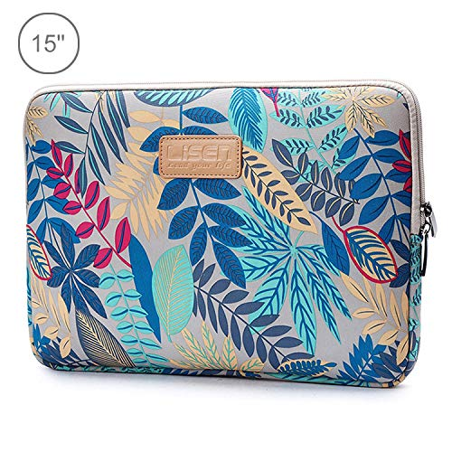 Tablet Carrying Bag, laptop Bag Lisen 15 inch Sleeve Case Ethnic Style Multi-color Zipper Briefcase Carrying Bag, For Macbook, Samsung, Lenovo, Sony, DELL Alienware, CHUWI, ASUS, HP, 15 inch and Below