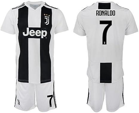 cf9f3753ed7 Amazon.com  NEWsto Men s 2018 2019 Juventus Ronaldo  7 Home Jersey ...