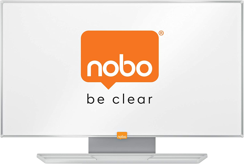 Nobo 1905296 Widescreen 32 Stahl Nano Clean Whiteboard wei/ß
