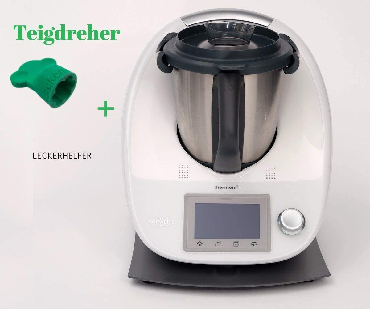 Leckerhelfer - Tabla deslizante para Thermomix TM5 / TM6 / gris antracita/metal: Amazon.es: Hogar