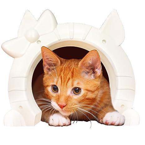 Amazon Cat Door For Interior Doors Kitty Pass With Cats