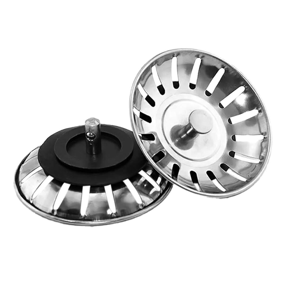 LACKINGONE 2 tapones de repuesto para fregadero de cocina se adapta a la mayor/ía de fregaderos modernos Franke