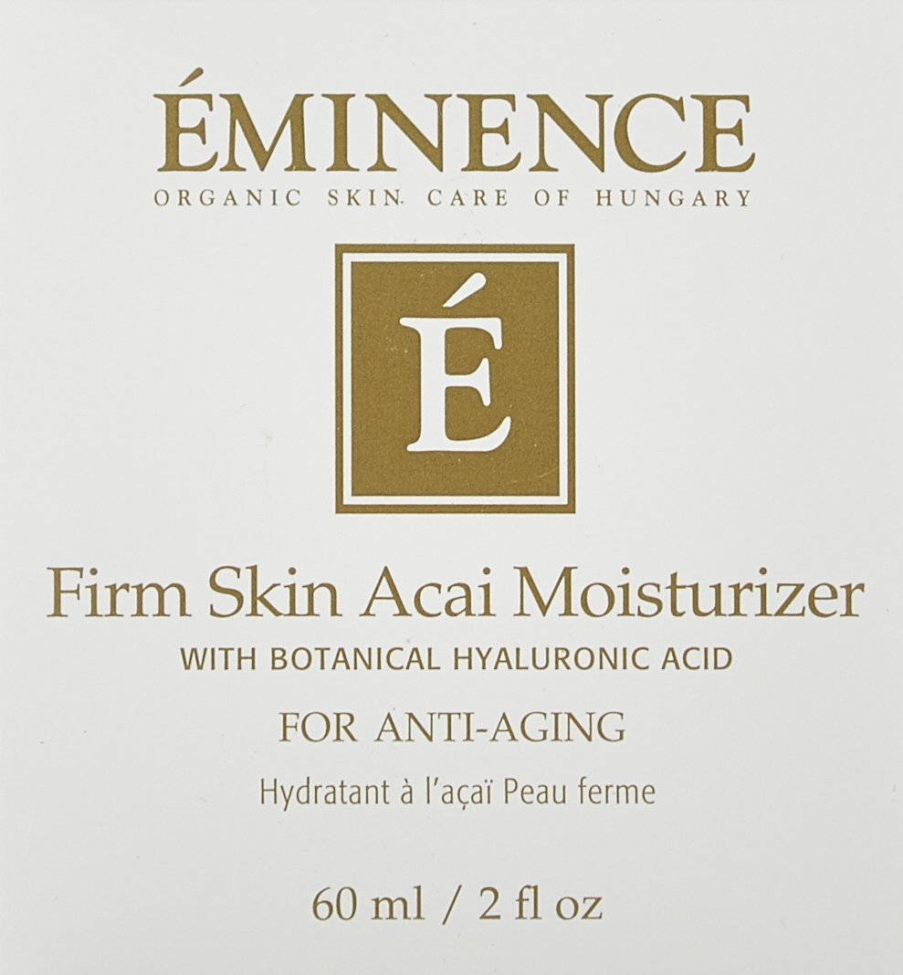 Eminence Organic Skincare Firm Skin Acai Moisturizer with Hyaluronic Acid, 2 Fluid Ounce