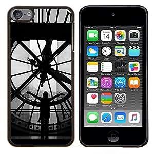 Jordan Colourful Shop - Architecture Big Ben Clok Inside For Apple iPod Touch 6 6th Generation Personalizado negro cubierta de la caja de pl????stico