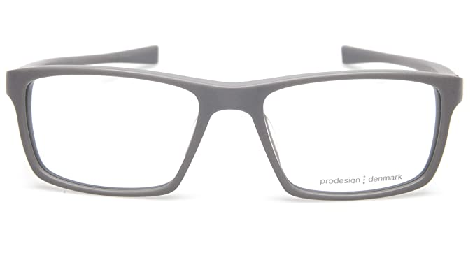 258a747a795 Image Unavailable. Image not available for. Color  NEW PRODESIGN DENMARK  7633 c.6521 GREY EYEGLASSES FRAME ...