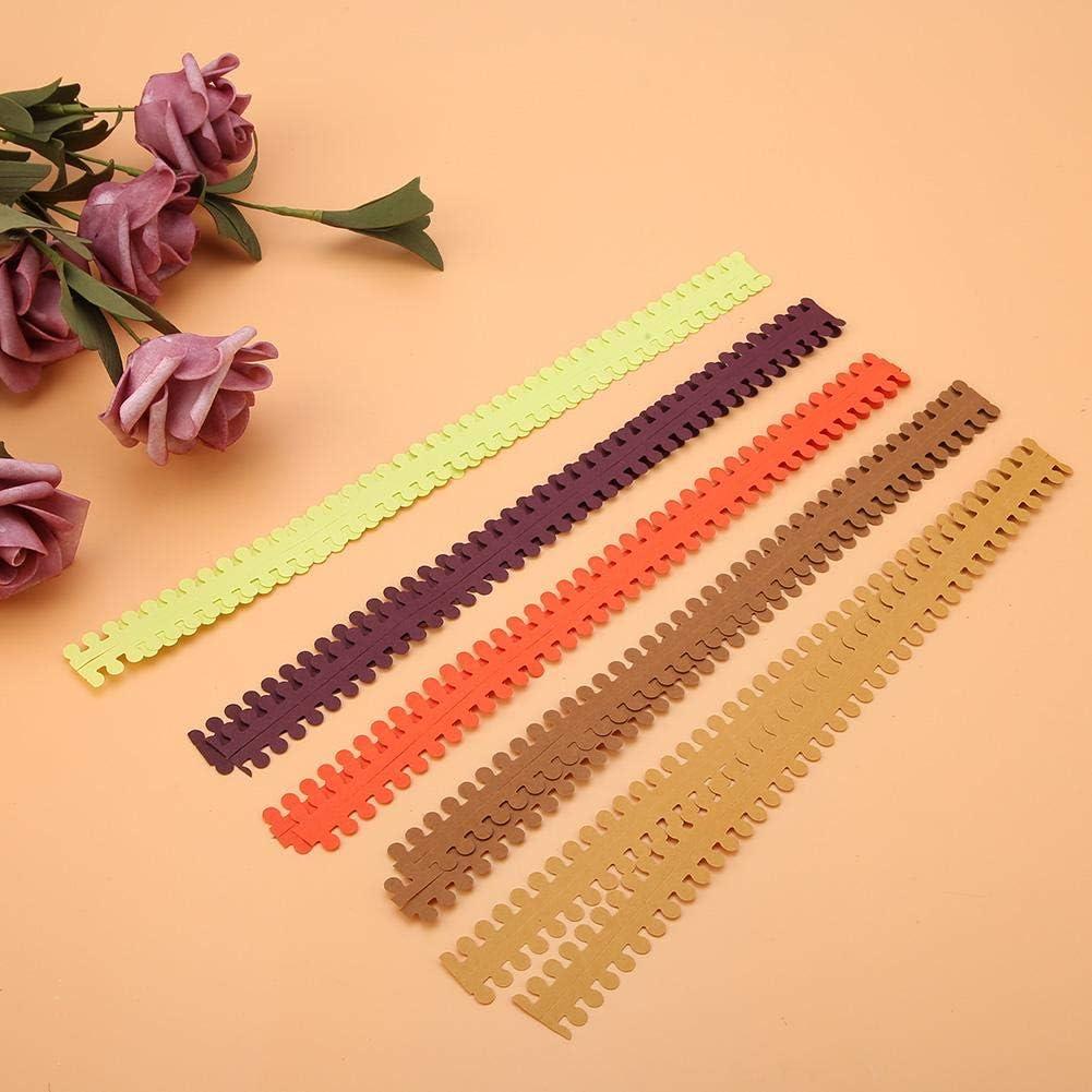 TUPARKA 19 St/ück Papierquilling-Kits 45 Farben 900 Streifen Quilling Kunst Papier DIY Basteln