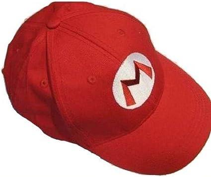Game Super Mario Bros Cosplay Baseball Cap Adjustable Sports Snapback Hat Unisex