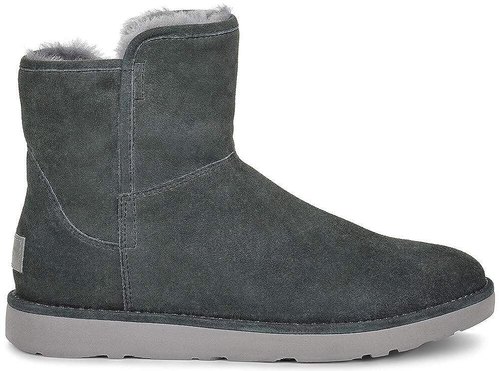 UGG Abree Mini Leather Nero Boots