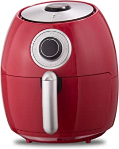 Dash Family Size 6qt Air Fryer, Red