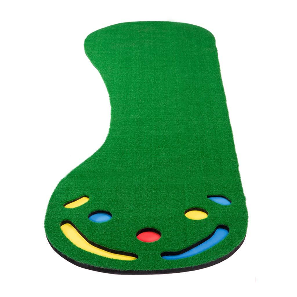 ゴルフフード ゴルフマット、室内と屋外のミニパター練習用毛布、子供の大人用練習用毛布   B07MKWLZRQ