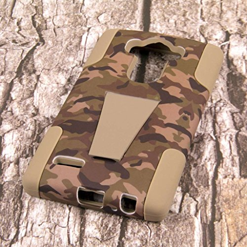 LG G4 Camo Case, MPERO IMPACT X Series Dual Layered Tough Durable Shock Absorbing Silicone Polycarbonate Hybrid Kickstand Case for LG G4 [Perfect Fit & Precise Port Cut Outs] - Hunter Camo Photo #7