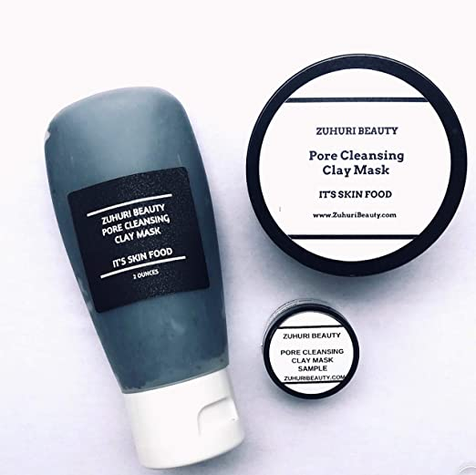 The Zuhuri Beauty's Pore Cleansing Clay Mask travel product recommended by Tracy Lamourie on Pretty Progressive.