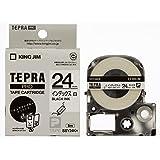 キングジム テープカートリッジ テプラPRO インデックスラベル SSY24K 白