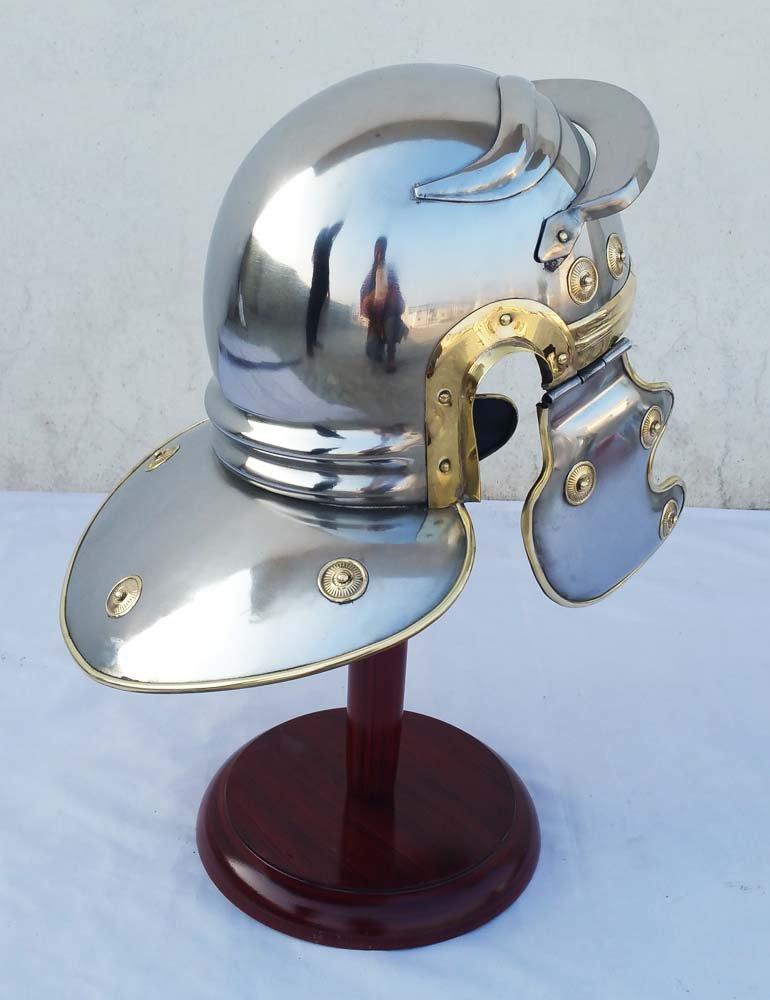 Shiv Shakti empresas romano centuri/ón soldado armadura casco romano r/éplica Medieval