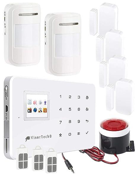 VisorTech - GSM de alarma con alarma de/de conexión móvil de ...