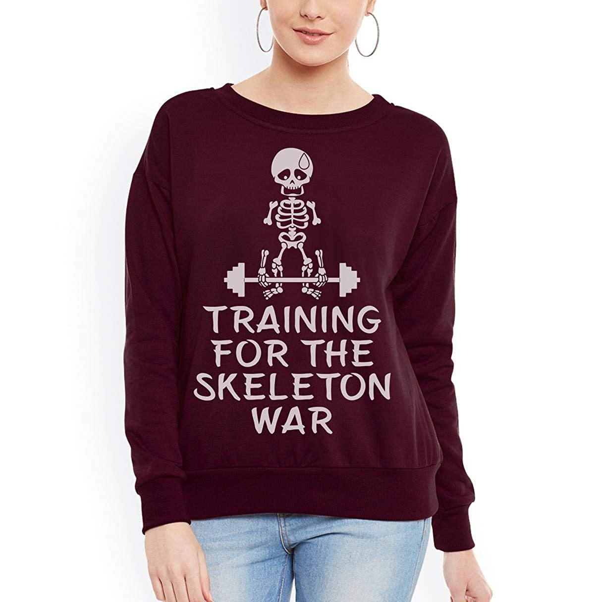 Training for The Skeleton War Unisex Sweatshirt tee