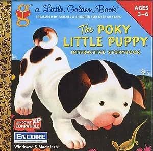 Golden Books - The Poky Little Puppy (Jewel Case)