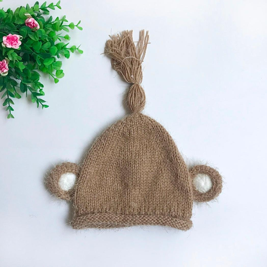 Suit for 1-6 Months Baby,DIGOOD Kids Boy Girls Winter Warm Baby Hats Cap Children Knitted Hat Hat