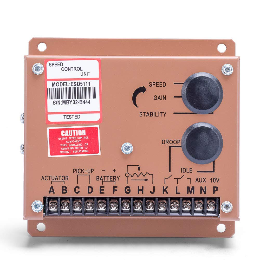 Sruik Tool Electronic Engine Speed Controller Governor ESD5111 Generator Genset Parts
