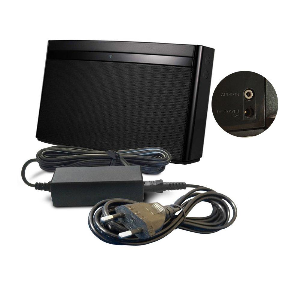 ABC Products® Reemplazo del cable de Bose 20V / 20 Volt 2 AMP Batería Cargador / Adaptador Adaptador Fuente de alimentación para SoundDock Portable (Original) N123, SoundLink Air, SoundLink Wireless Bluetooth Digital Music System Player /