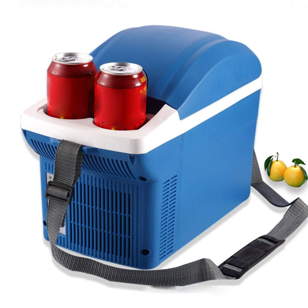 JTYP 12V Car Mini Refrigerator 8 Liter Horizontal Heating and Cooling Box Out of The Portable car Gift