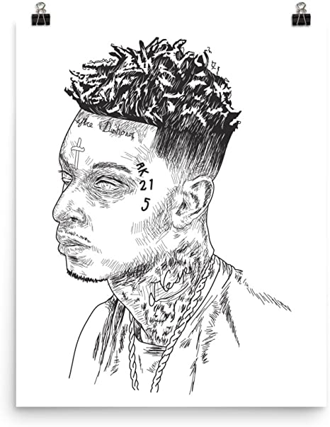 11 21 SAVAGE Hollywood Celebrity Art Photo Poster 24 inch X 36 inch