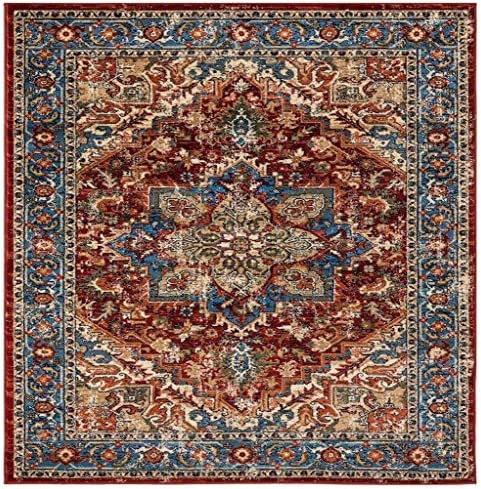Luxe Weavers Howell Collection Red Oriental 8×10 Area Rug 2522