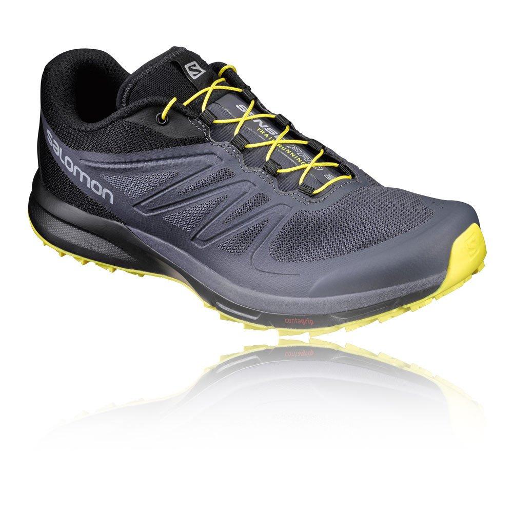[サロモン] トレイルランニングシューズ SENSE PRO 2 B01HD60MNS 12.5 F(M) UK / 13 D(M) US Ombre Blue/Black/Blazing Yellow