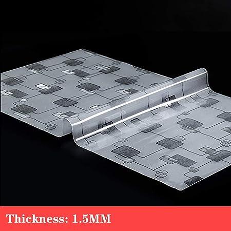 Cubierta Transparente Para Mesa De Comedor 1,5 Mm De Plástico ...