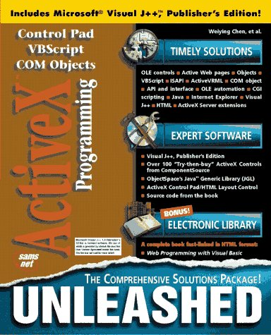 Activex Programming Unleashed by Brand: Sams Publishing