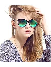 anteojos de sol polarizadas de la mujer Cat Eye Aviator Wayfarer anteojos de sol + Case