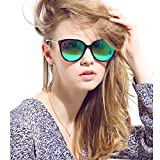 Women's Polarized Sunglasses Cat Eye Sunglasses Aviator Wayfarer Sunglasses+Case
