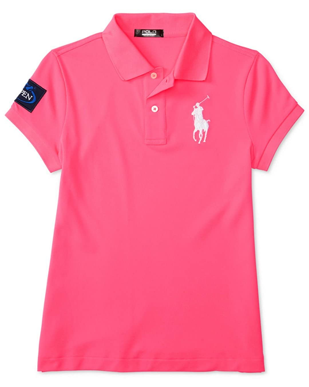 219cbde83 Celebrating the 2016 US Open, this polo shirt merges moisture-wicking  performance mesh with iconic style, making it perfect for cheering from the  stands or ...