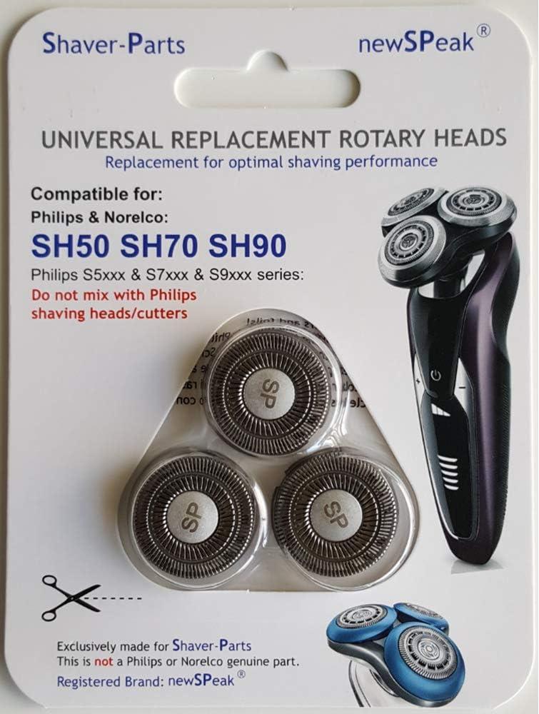 Cabezales de afeitado modelo SH50 SH70 SH90, cabezales de afeitado ...