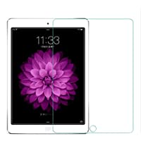 """New iPad 9.7"""" (2018/2017) Tempered Glass Screen Protector /2.5D Round Edge/Scratch Resistant/Bubble-Free Installation for Apple iPad 9.7 inch/iPad Pro 9.7 inch/iPad Air (1 Pack)"""