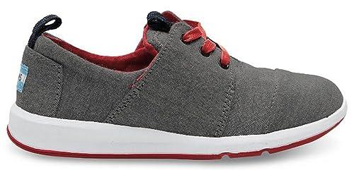 TOMS - Zapatillas de Lona para niño Negro Negro: Amazon.es: Zapatos y complementos