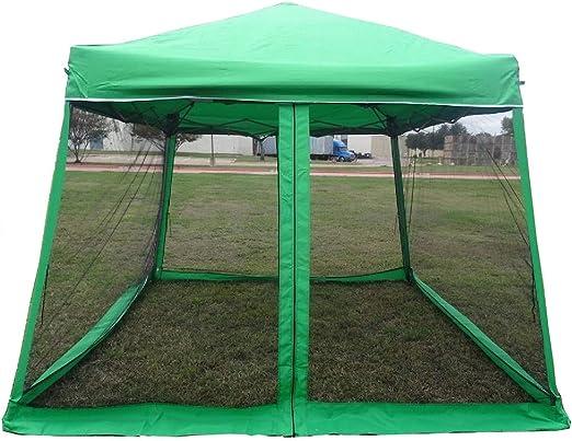 WPIC 8x8 10x10 Pop up Canopy Party Tent Gazebo Ez with Net