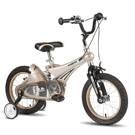 XQ TL-104 Oro Rosa Bicicleta Para Niños 3-13 Años De Edad Chico ...