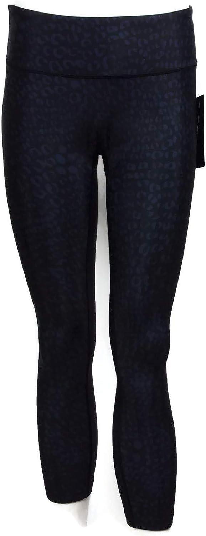 PRISMSPORT Womens Hi Waist Barre 7//8 Legging Cheetah Small