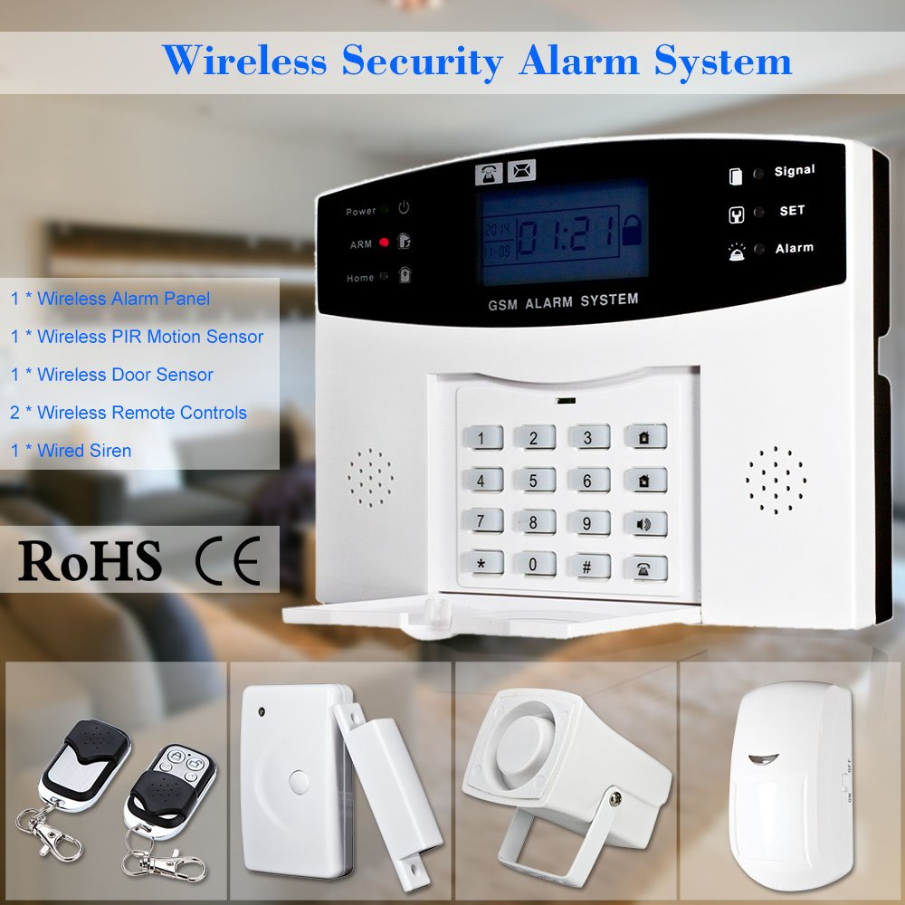 Comparativa sistemas de alarmas