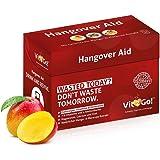 Vit2Go! Hangover Aid / Anti Kater Mittel im 10er Set / Hangover Drink zur Rehydration / auch zum Vorbeugen / erfrischendes Getränk mit Elektrolyten, Vitaminen, Mineralien & Co