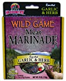 Hi-Country Snack Foods Domestic Meat and WILD GAME 4 oz. Roasted Garlic & Herb  Meat Marinade (2/2 oz. packs)