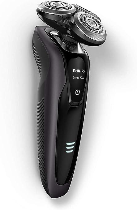 Philips SHAVER Series 9000 S9031/21 - Afeitadora (Máquina de afeitar de rotación, SH90, Negro, Batería, Ión de litio, 0,1 W): Amazon.es: Hogar