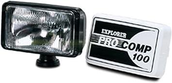 """Pro Comp 9101 100 Watt 5/"""" x 7/"""" Light Black"""