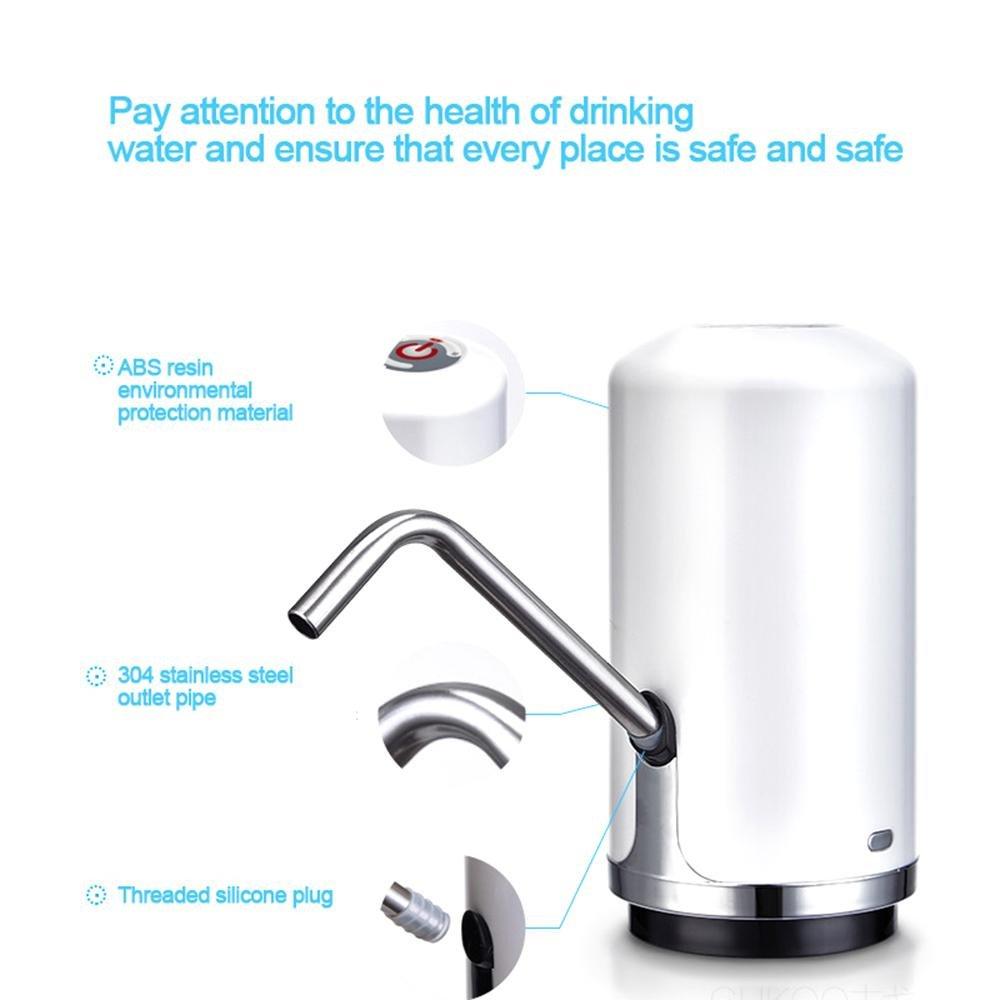 Layopo Electric Drinking Water Pump, USB Charging Universal Gallon Bottle Water Pump by Layopo (Image #3)