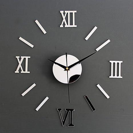 Reloj De Pared De Moda En Forma De Números Romanos Reloj Adonado