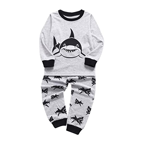 Kolylong Cool Kids Boy Autumn Outfits for 1-5Years Toddler Kids Baby Boys Letter Print T Shirt Tops+Pants Outfits Clothes Set